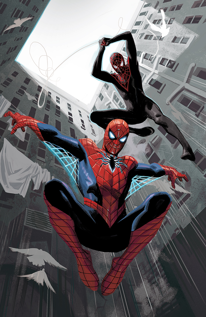 Spider-Men II #1, variant cover
