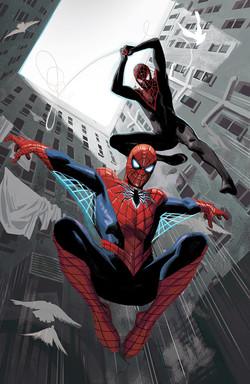 Spider-Men II #1, variant cover