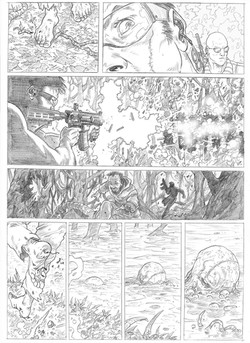 Swamp Thing sample page 1