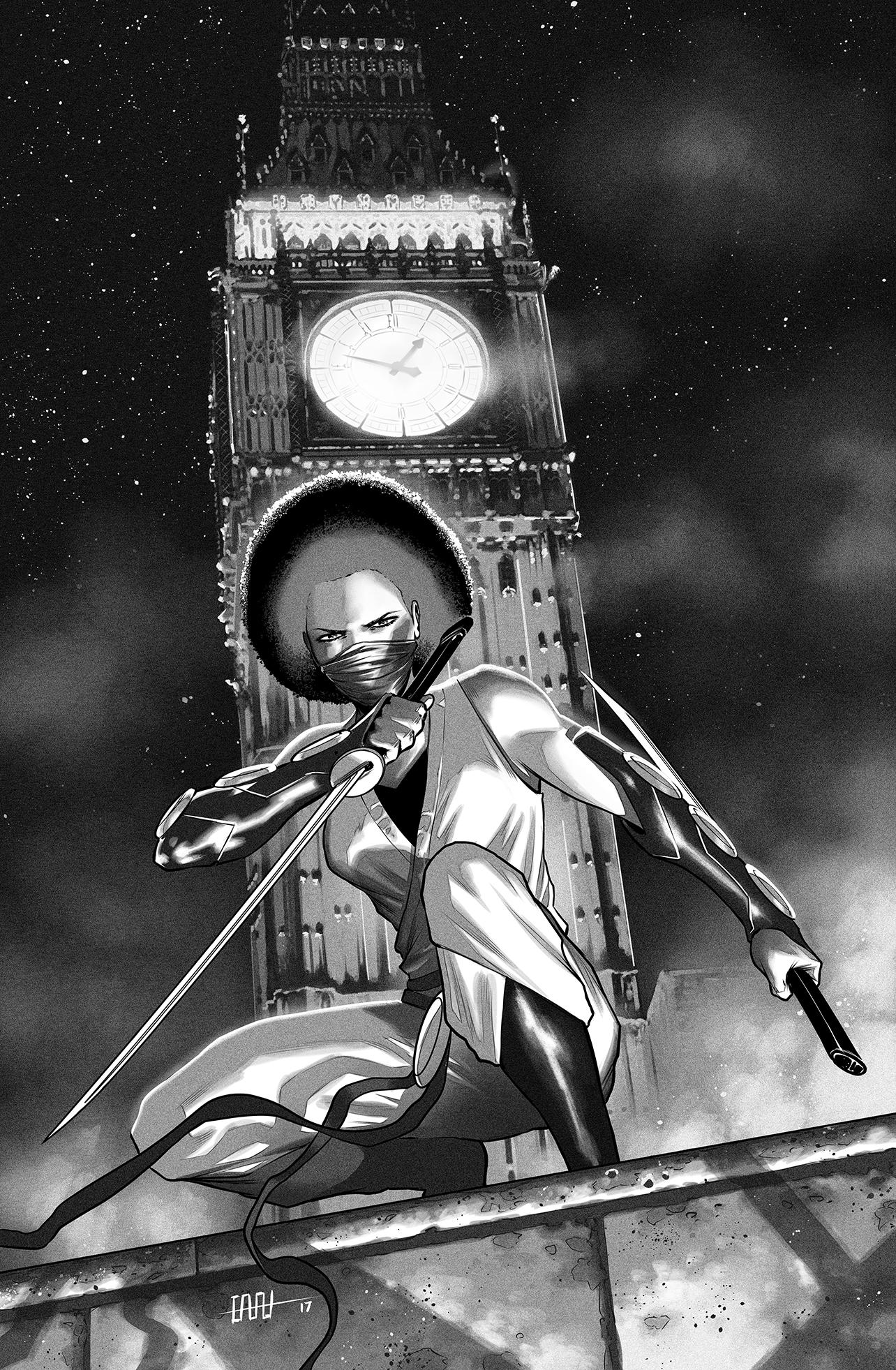 Ninja-K #4,  cover