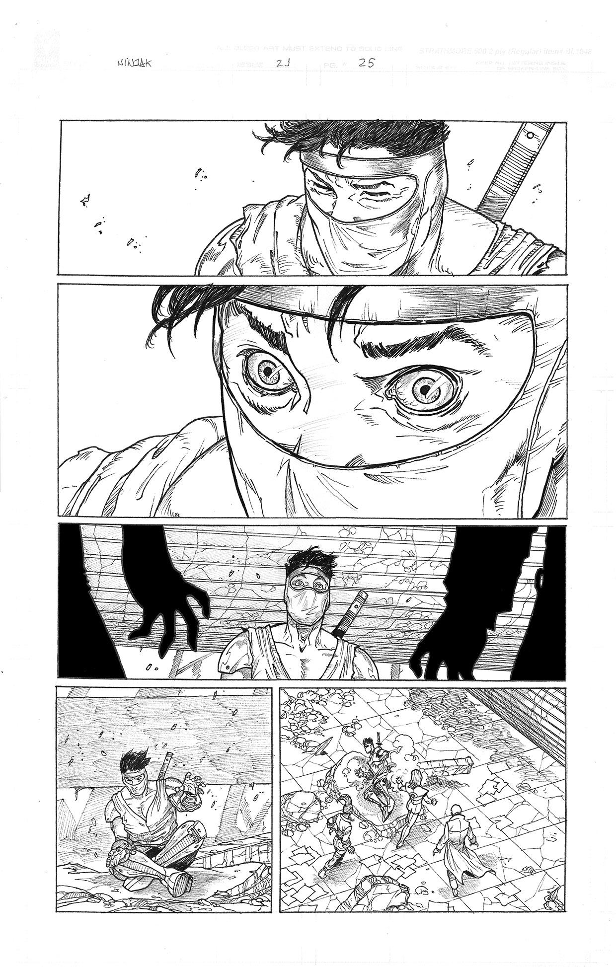 Ninjak #21 page 25