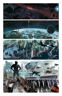 Marvel Legacy #1 Black Panther page 1