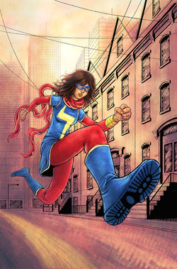 Miss Marvel, pinup