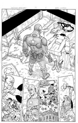 Captain America Steve  Rogers #19 page 1