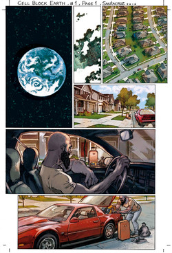 Cell Block Earth Part 1, page 1