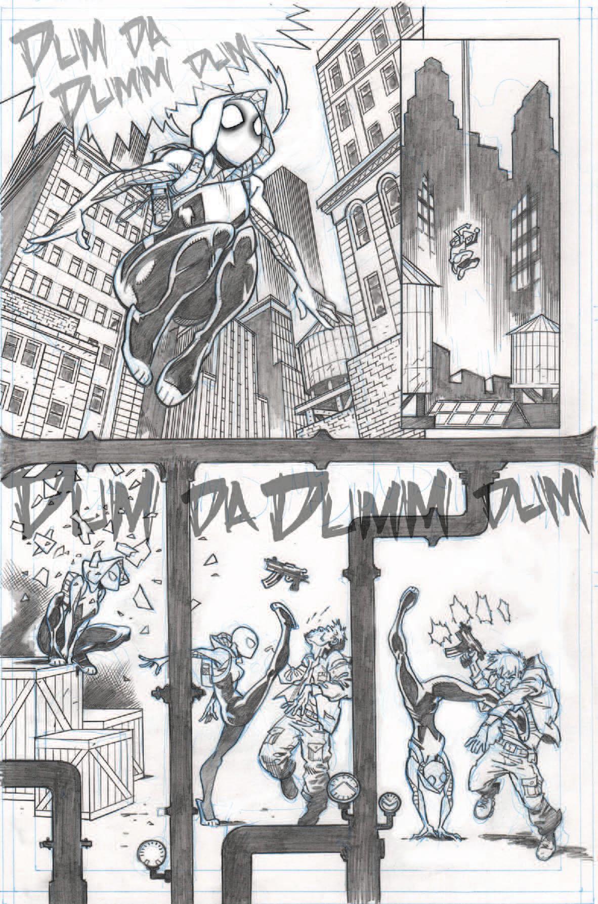 Spider-Gwen samples, page 2