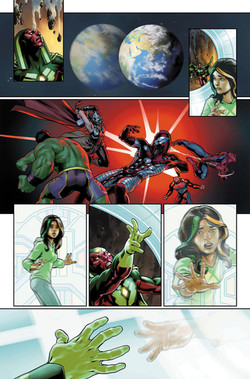 Avengers #674, page 19