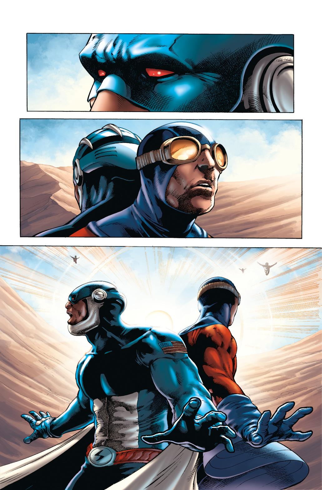 Skyman #4 page 1