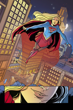 Adventures of Supergirl #13 page 10