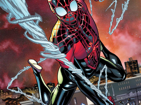 Carmen Carnero takes over Miles Morales: Spider-Man, with issue #17, part of the epic Outlawed!