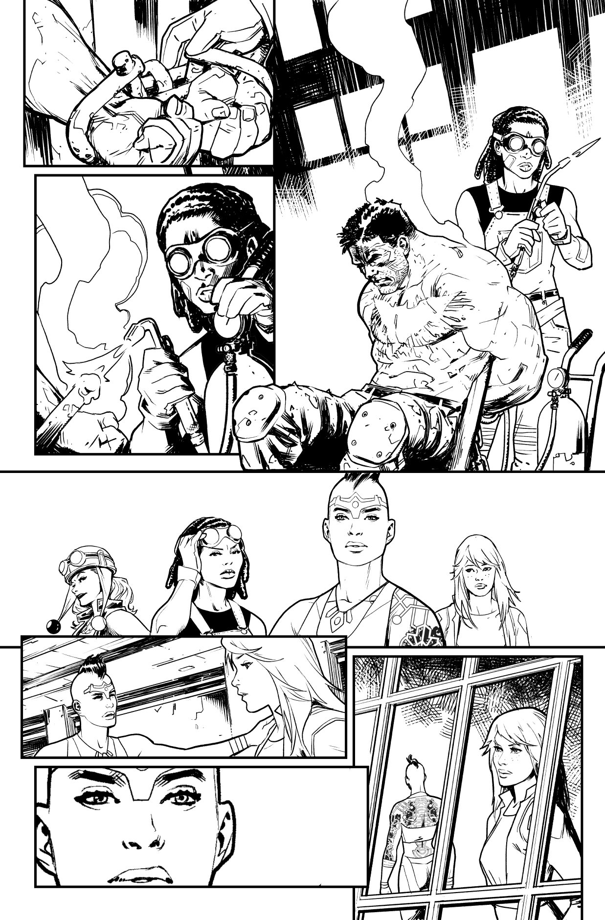Gotham City Garage #12, page 8