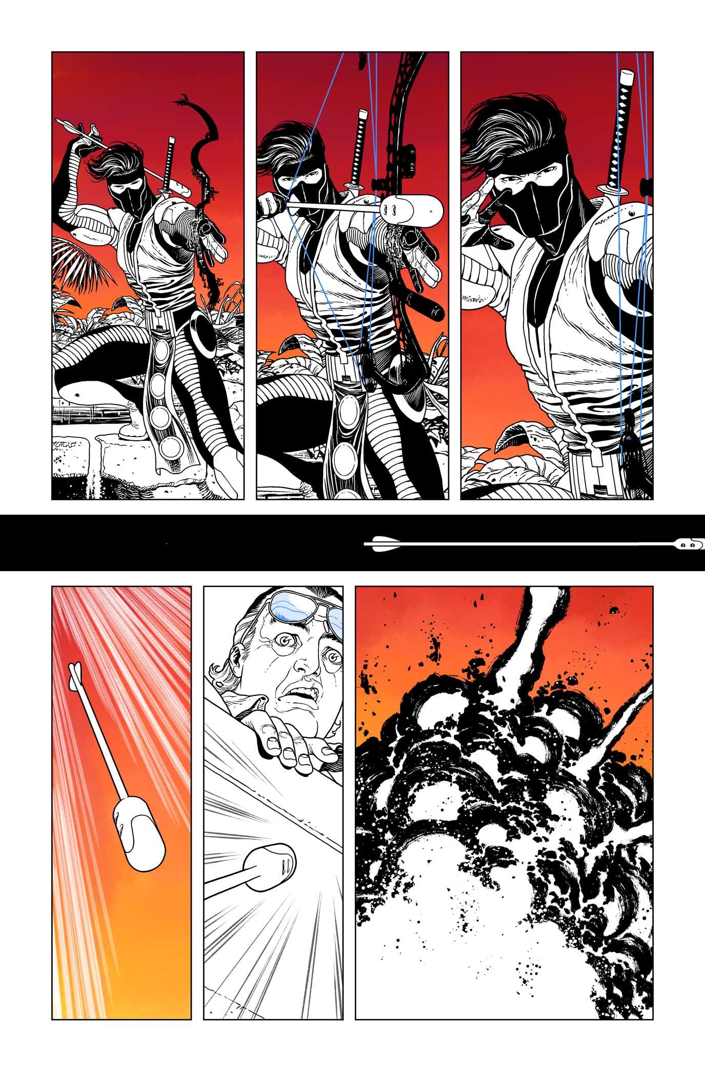 Ninjak #0, page 21