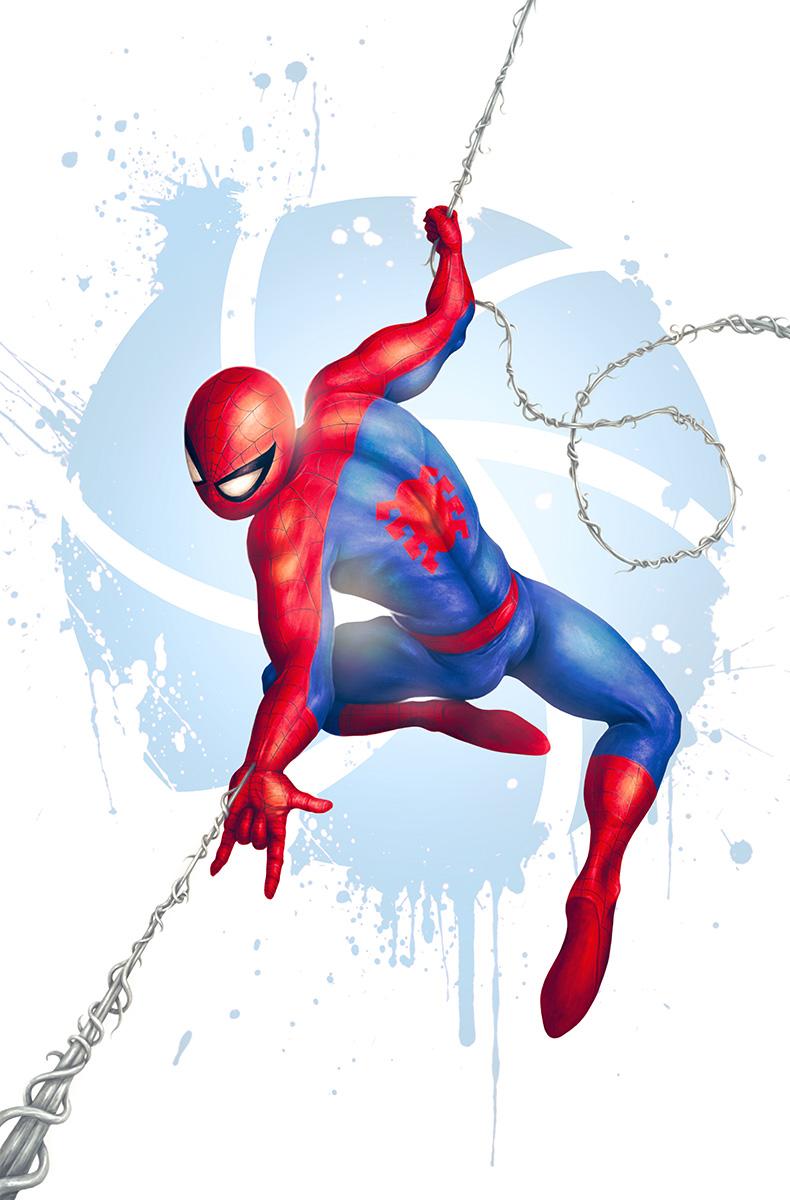 Spider-Man, pinup