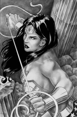 Wonder Woman Pin-Up