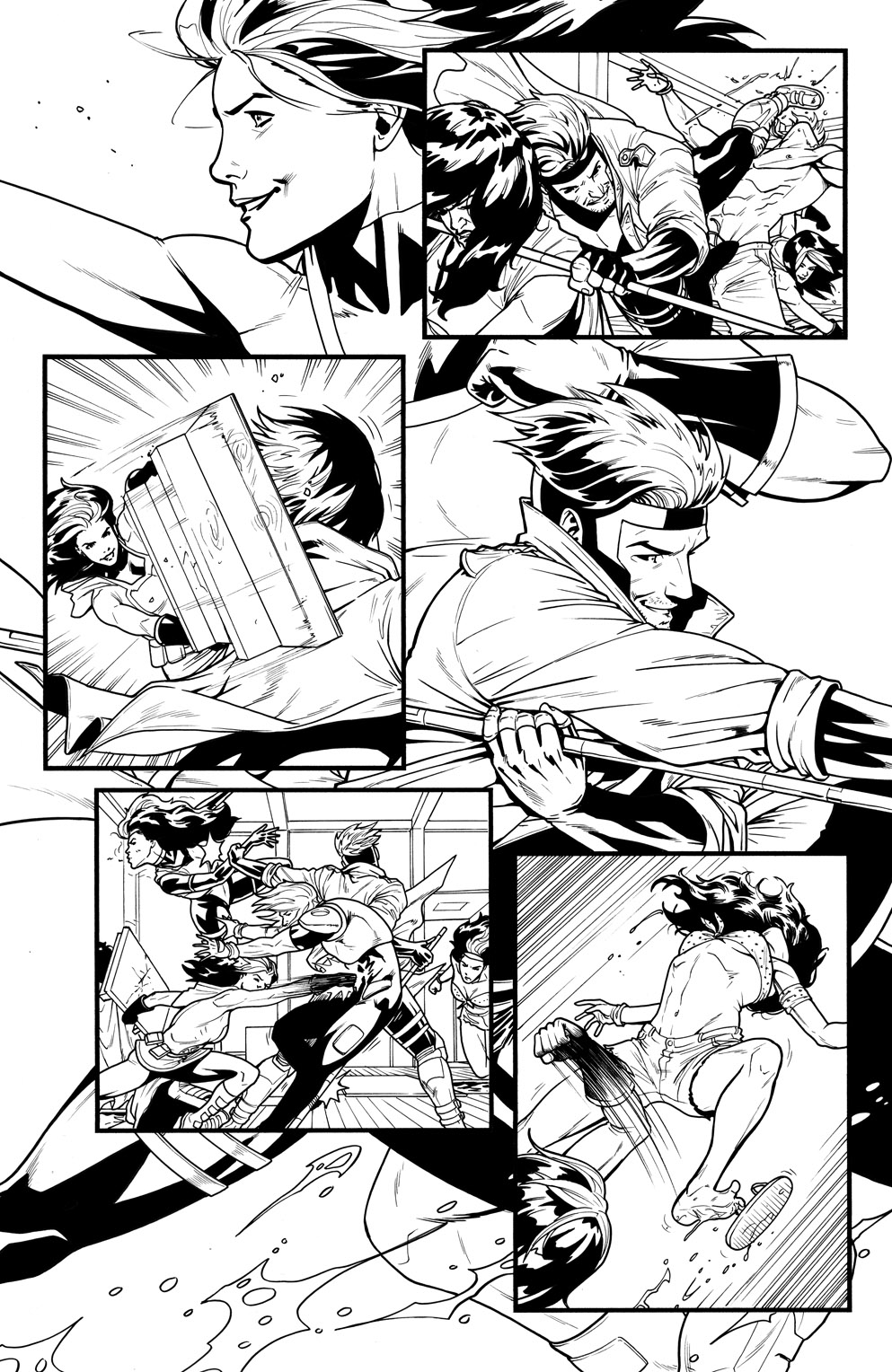 Rogue Gambit #3 page 16