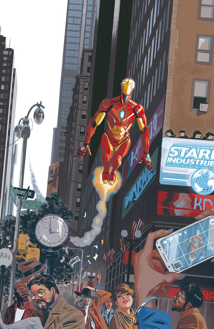 Invincible Iron Man #9, cover