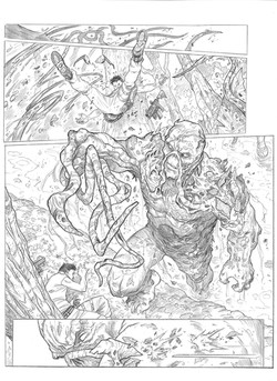 Swamp Thing sample page 2