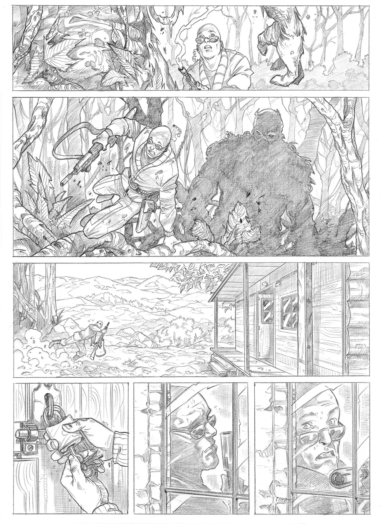 Swamp Thing sample page 3