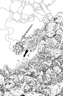 X-O Manowar #37, cover