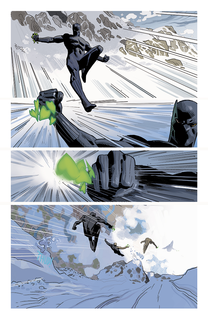 Black Panther Annual #1 page 4
