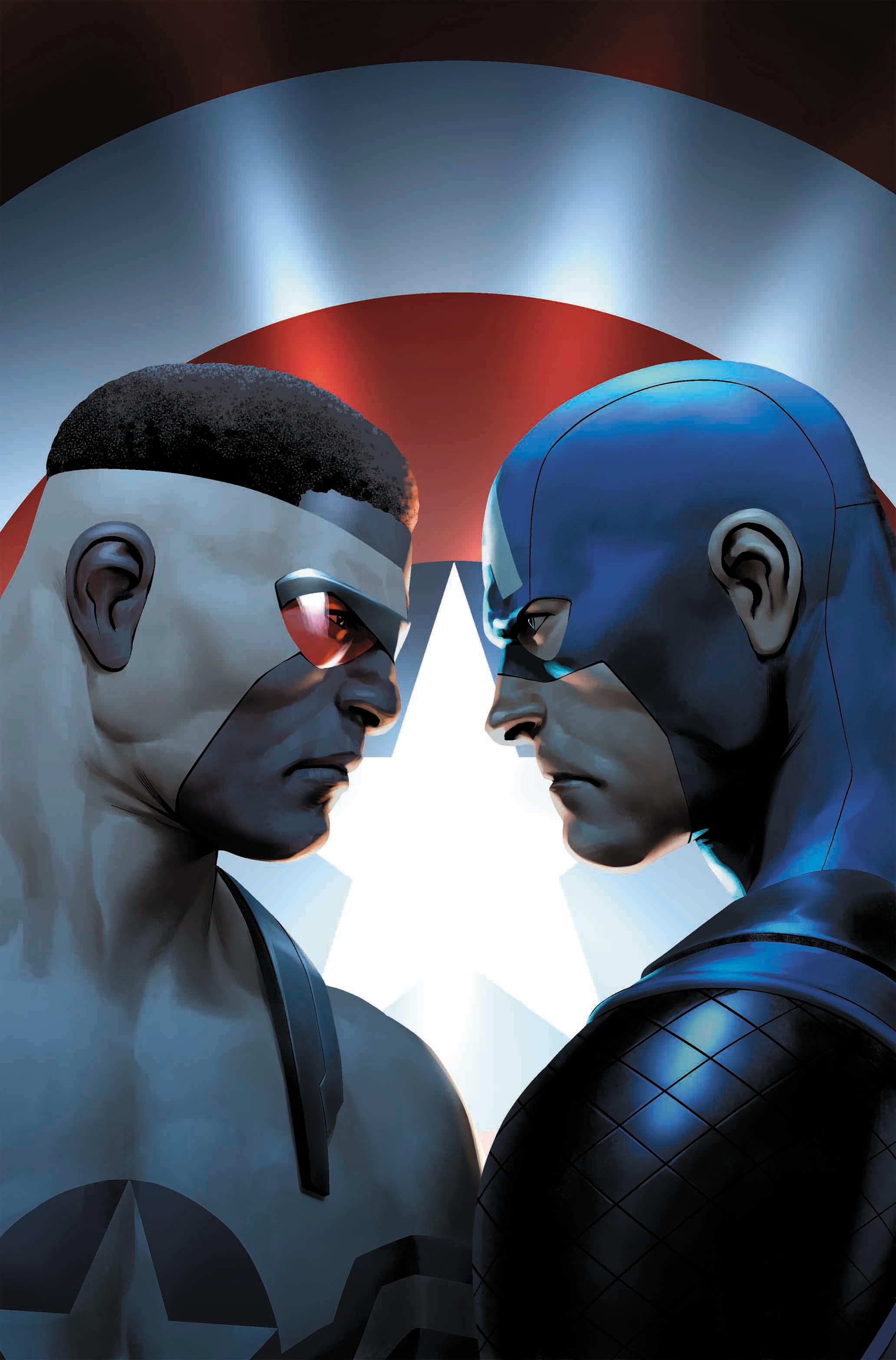 Captain America #25, cover