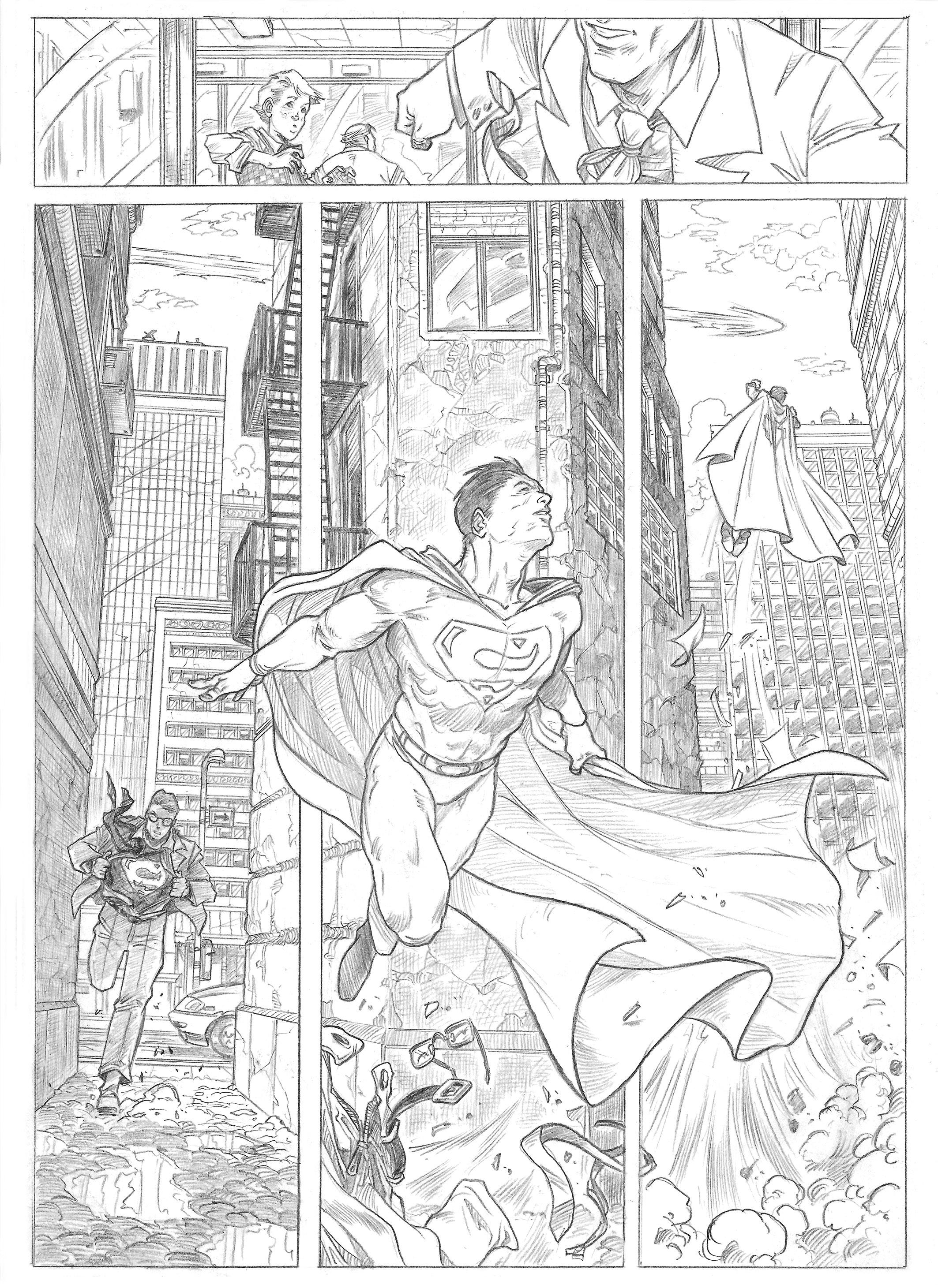 Superman sample page 2