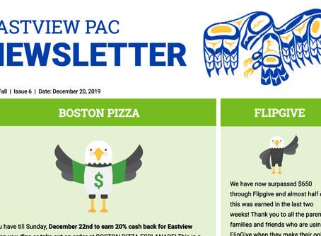 Newsletter - December 20th