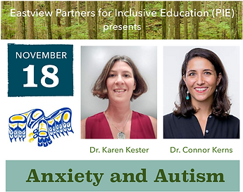 Anxiety and Autism (PIE)
