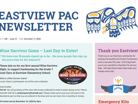 Newsletter - December 11th