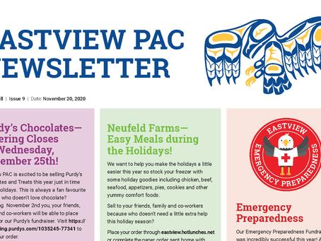 Newsletter - November 20th