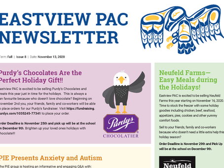 Newsletter - November 13th