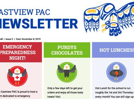 Newsletter - November 8th