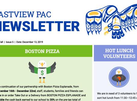 Newsletter - December 13th