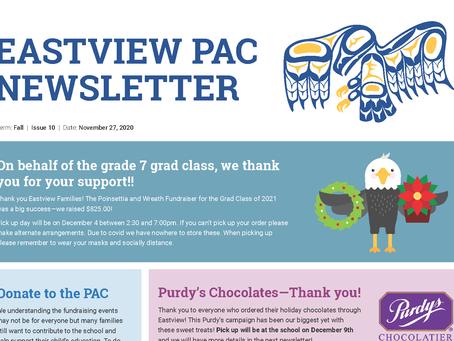 Newsletter - November 27th