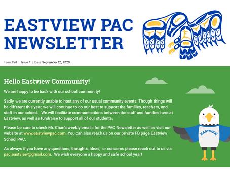 Newsletter - September 25th