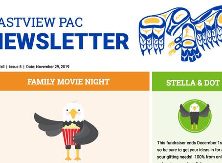 Newsletter - November 29th