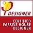 Certified Pasivhaus Designer Logo