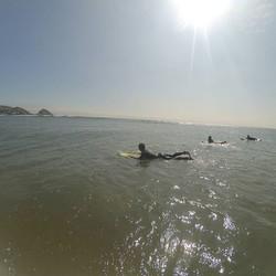 Siempre sol, siempre surf.
