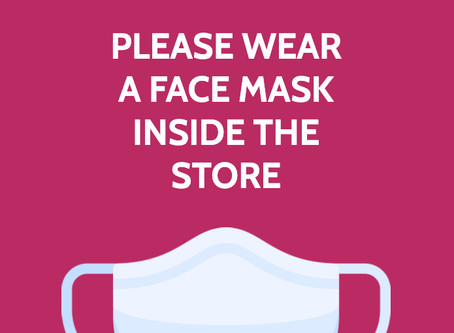 Thank You for Wearing a Mask!