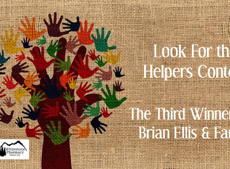 Third Winner, Look For the Helpers Contest