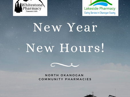 New Year, New Hours!