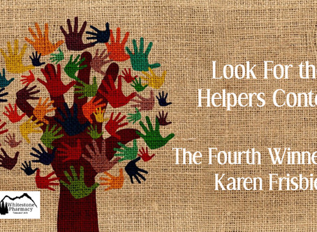 Fourth Winner, Look For the Helpers Contest