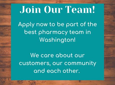 Pharmacist Wanted!