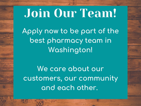 Pharmacist Wanted!