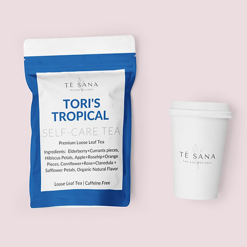 TORI'S TROPICAL IMMUNE BOOSTING TEA