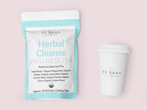 ORGANIC HERBAL CLEANSE WELLNESS TEA
