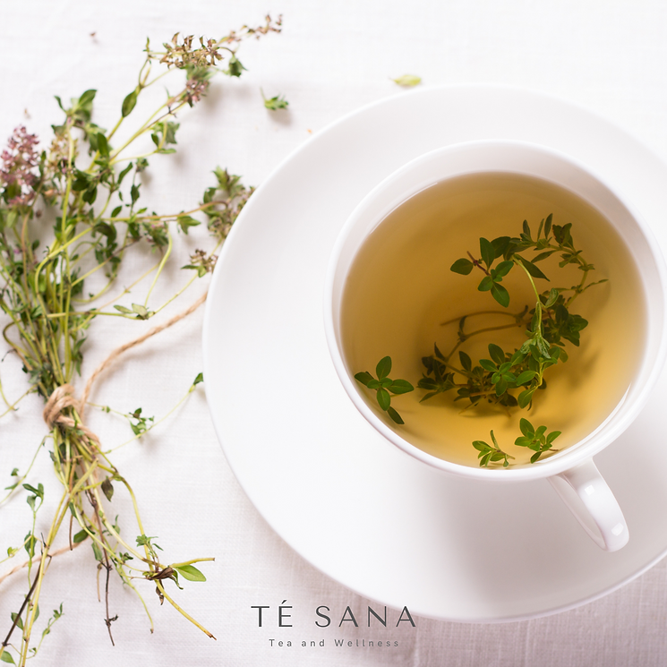Herbs and a warm cup of Tea