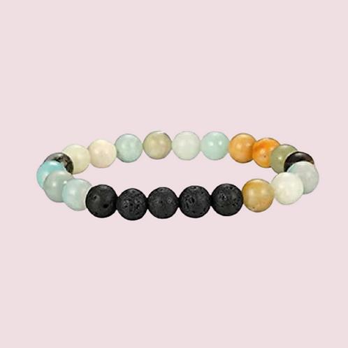 Lava Rock Healing Stone Bracelet