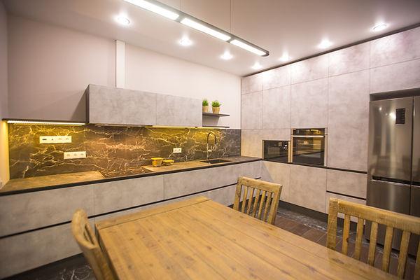 Кухонный гарнитур кухни кухня москва мытищи королев на заказ современная кухня кухня из бетона с мрамором идеи кухонь