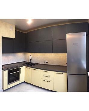 rezident mebel мебель кухни на заказ мытищи королев пушкино москва московская область стильные кухни серая кухня желтая кухня модная кухня 2020 года